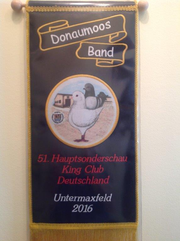 Donaumoosband 2016      V 97  auf   0.1 King braunfahlgehämmert
