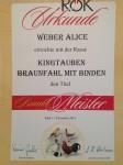 Bundesschau Ried 2015  Bundesmeister mit King Braunfahl